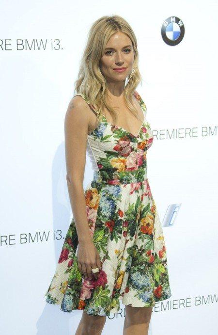 vestido de flores de Dolce & Gabbana