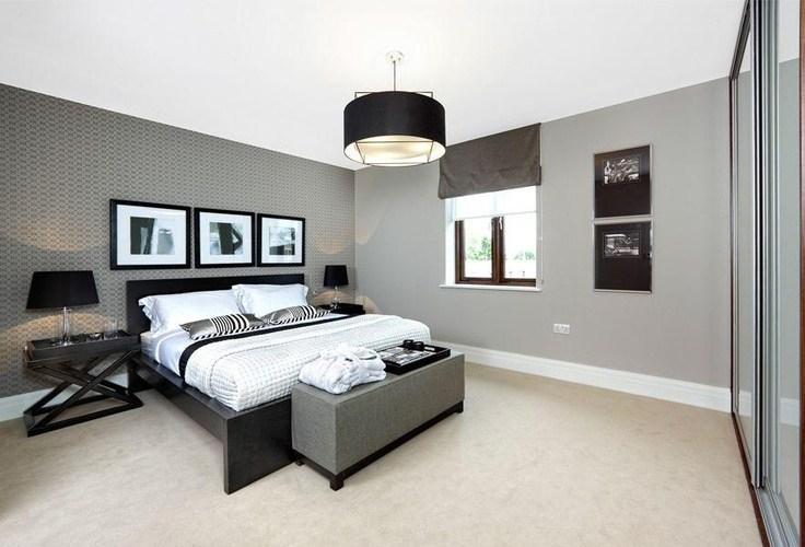 Paredes grises para dar calidez a las casas barcelonette - Paredes color gris ...