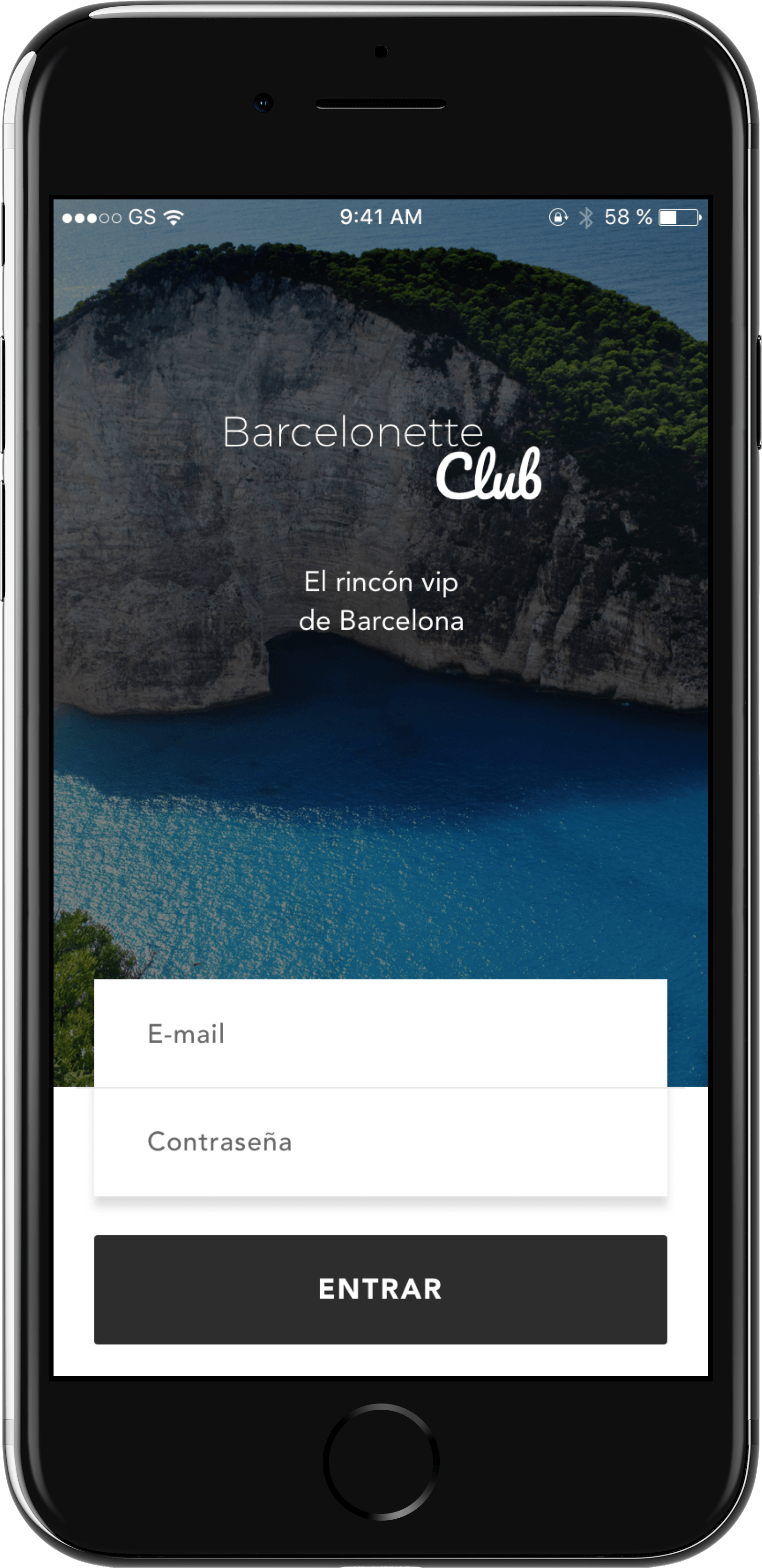 Barcelonette Club app