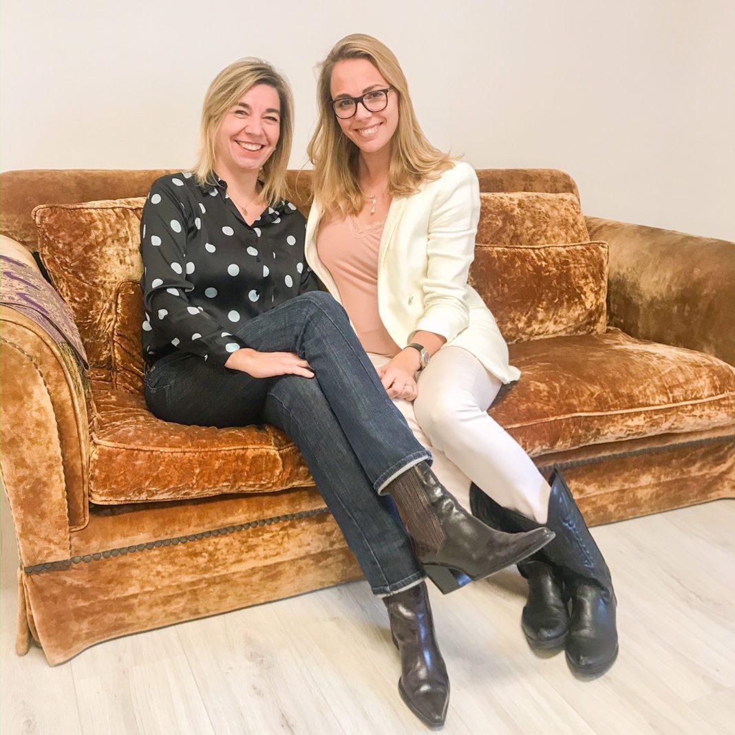 Marta Gimenez y Xenia Alonso en el Studio Barcelonette